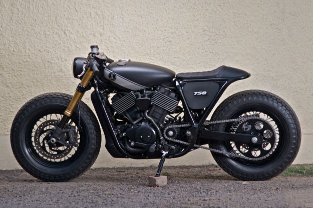 Harley Street 750 Do phong cach Cafe Racer - 6