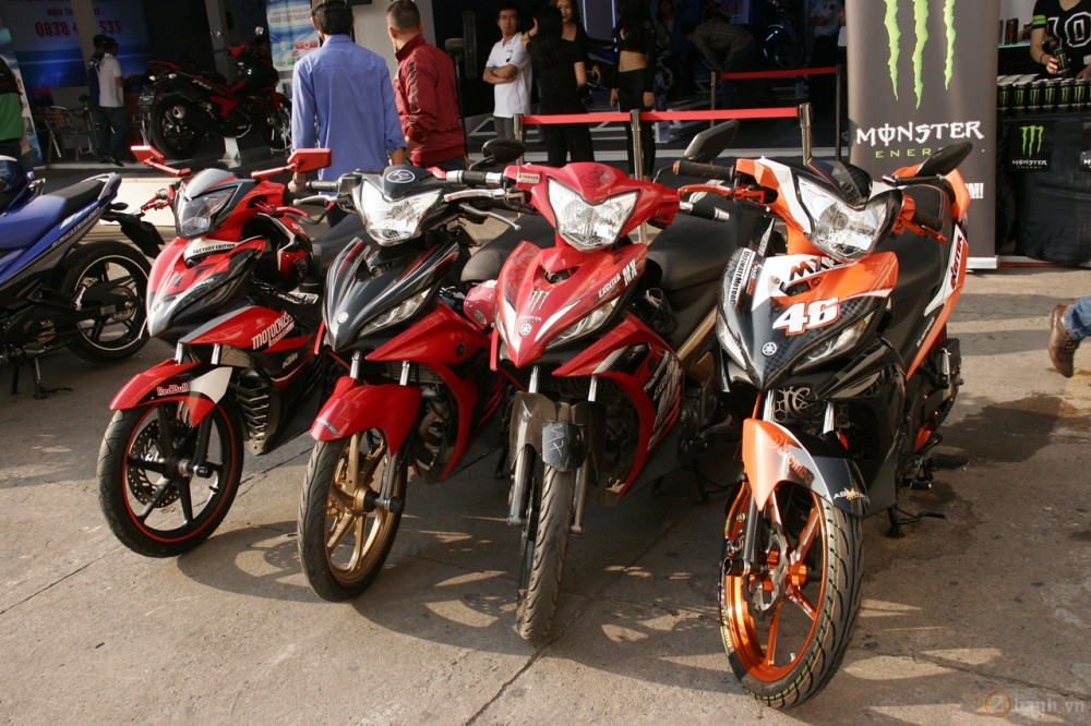 Ngay hoi Exciter 150 tai HCM The King Of Street - 2