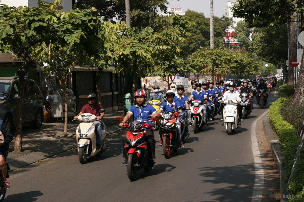 Ngay hoi Exciter 150 tai HCM The King Of Street - 21