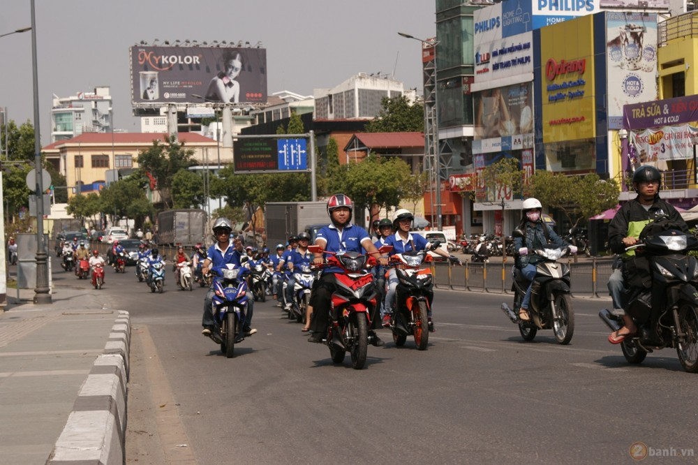 Ngay hoi Exciter 150 tai HCM The King Of Street - 22