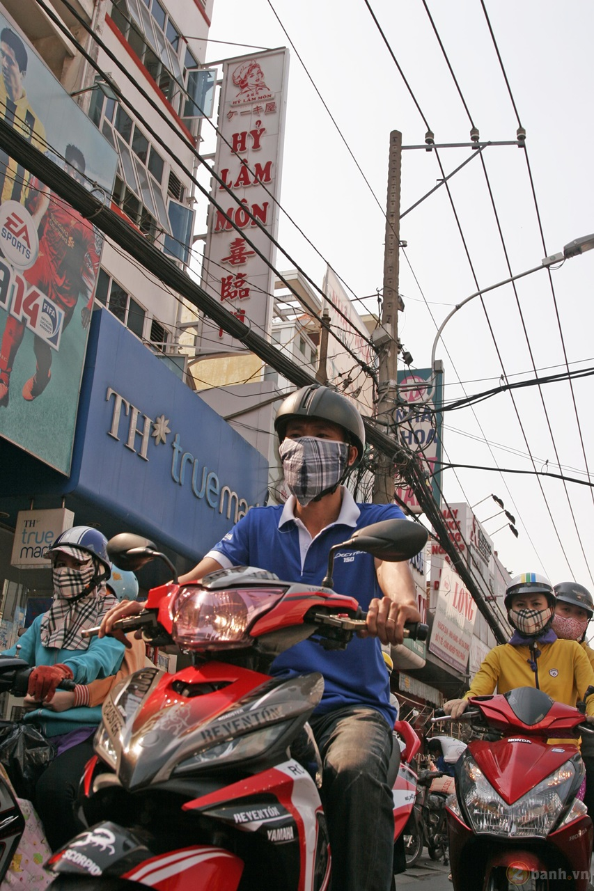 Ngay hoi Exciter 150 tai HCM The King Of Street - 23