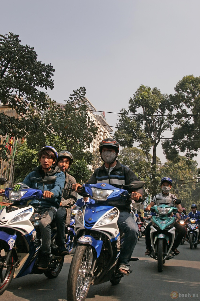 Ngay hoi Exciter 150 tai HCM The King Of Street - 26