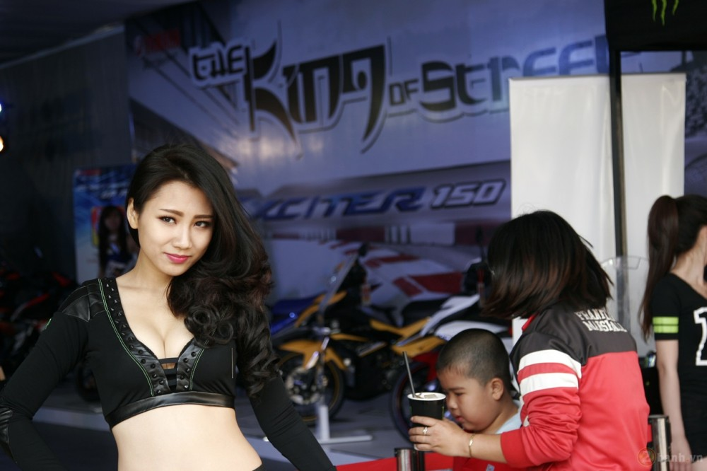 Ngay hoi Exciter 150 tai HCM The King Of Street - 34