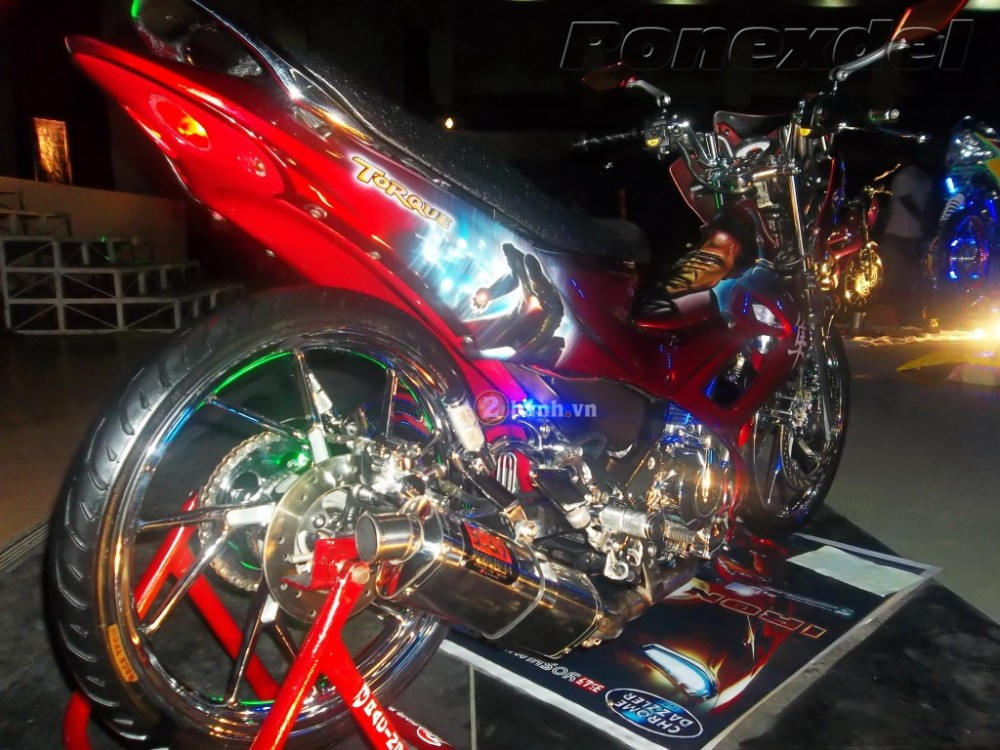 Nhung chiec Raider R150 doat giai trong Motoshow Philippines