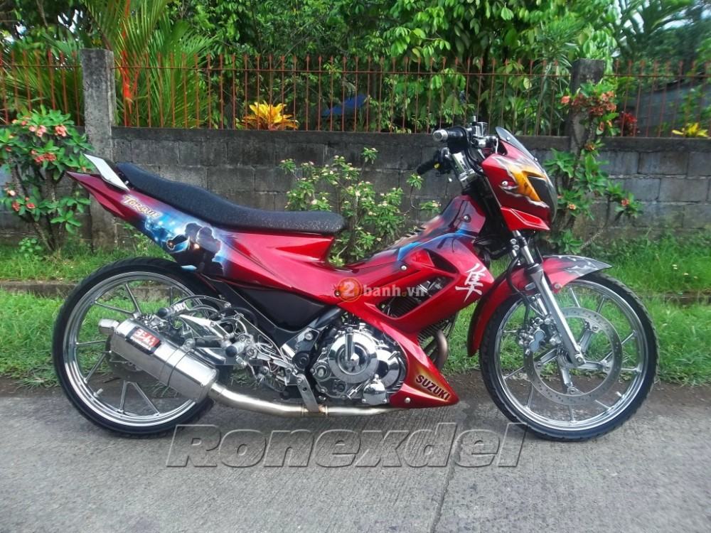 Nhung chiec Raider R150 doat giai trong Motoshow Philippines - 2