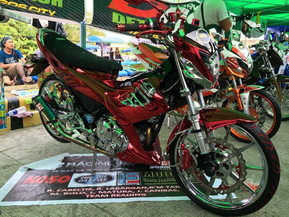 Raider 150 full option tu Racing Boy