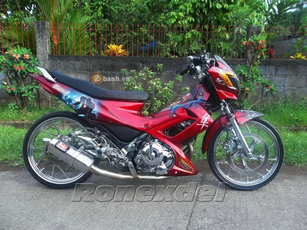 Suzuki Raider 150 Chien binh Iron Man