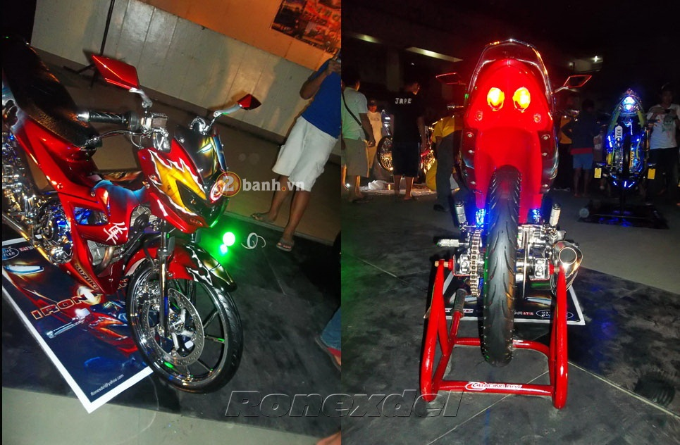 Suzuki Raider 150 Chien binh Iron Man - 3