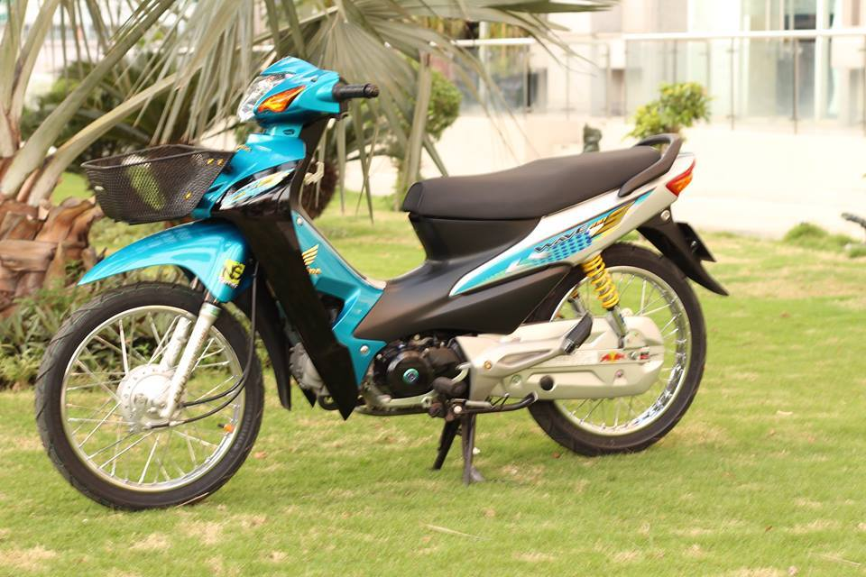 Chiec Wave A do style S100 Thai kich doc tai Sai Gon - 49