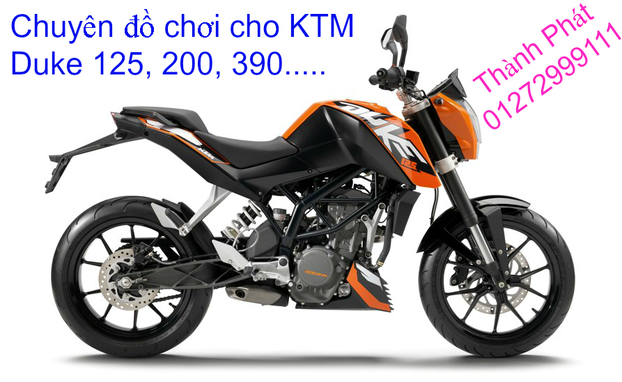 Do choi KTM Duke 125 200 390 tu A Z Gia tot