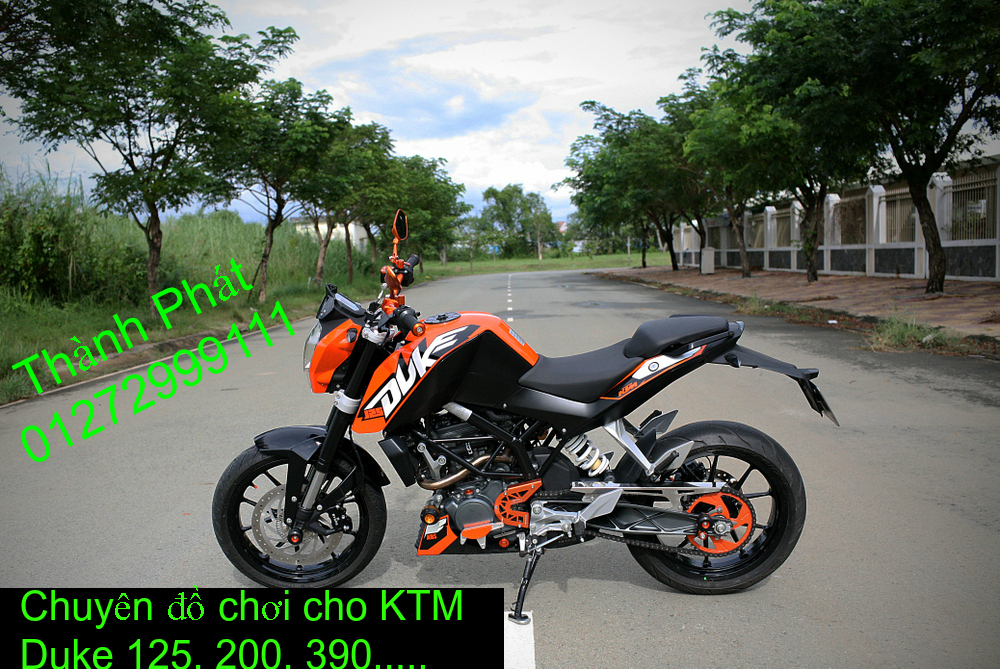 Do choi KTM Duke 125 200 390 tu A Z Gia tot - 2