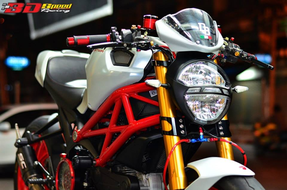 Ducati Monster 796 Khi con quy mot gio do cuc chat - 2