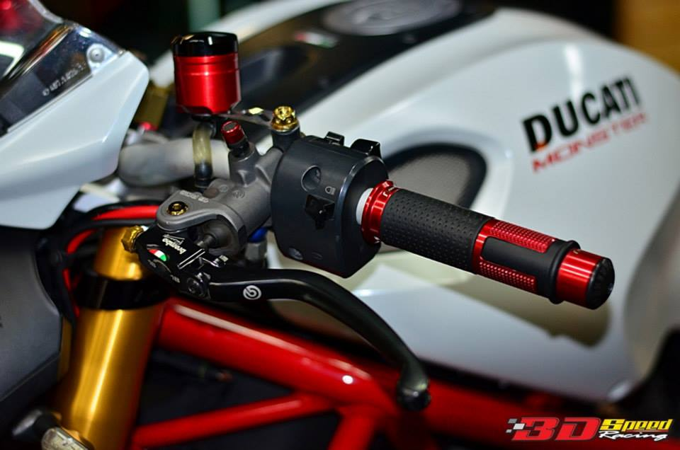 Ducati Monster 796 Khi con quy mot gio do cuc chat - 4