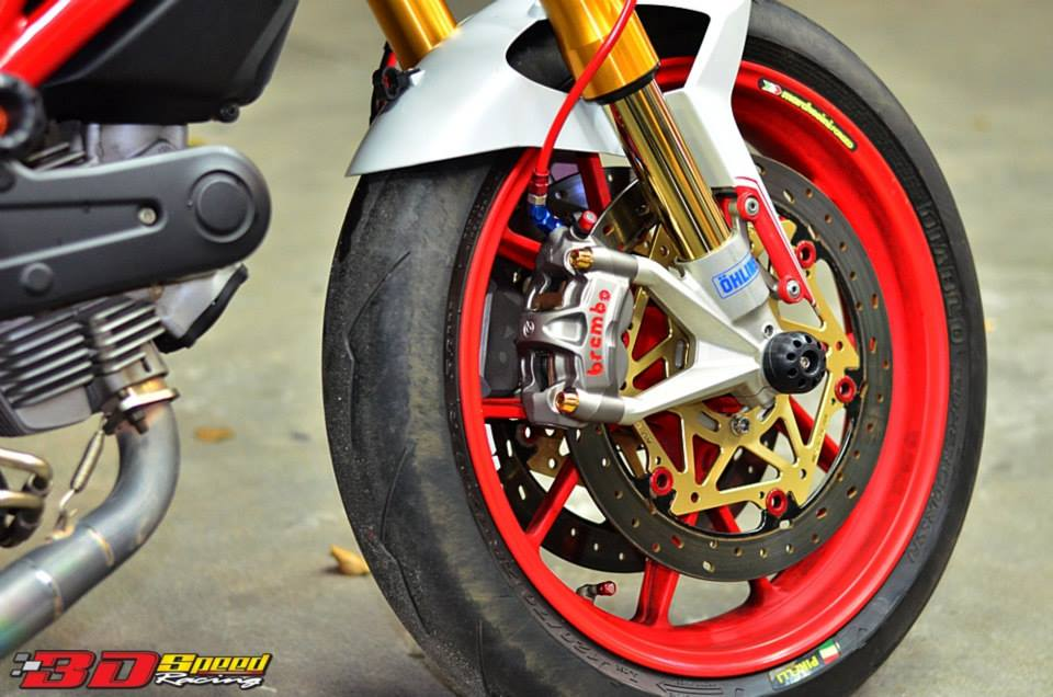 Ducati Monster 796 Khi con quy mot gio do cuc chat - 11