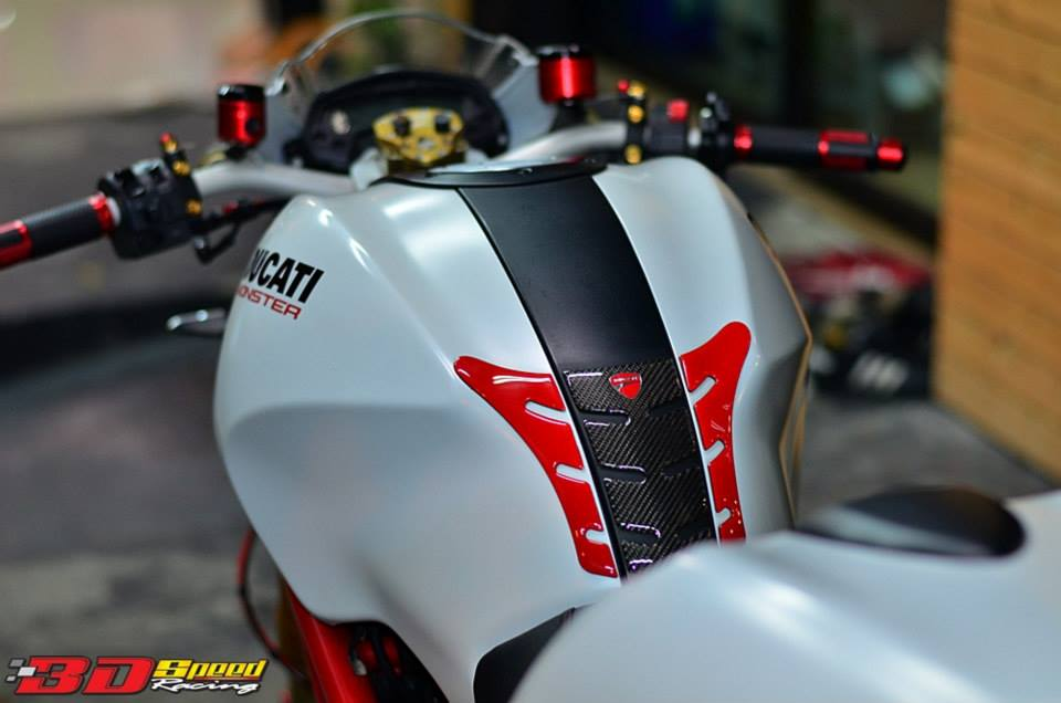 Ducati Monster 796 Khi con quy mot gio do cuc chat - 20