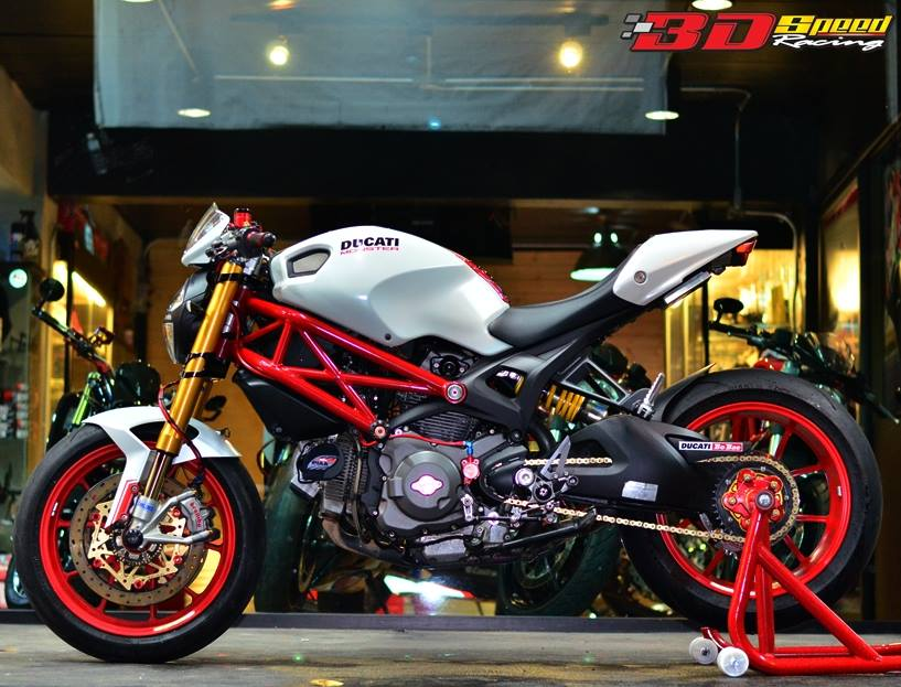 Ducati Monster 796 Khi con quy mot gio do cuc chat - 23