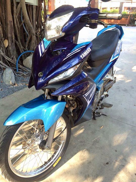 Exciter 135 do banh cam nhe nhang