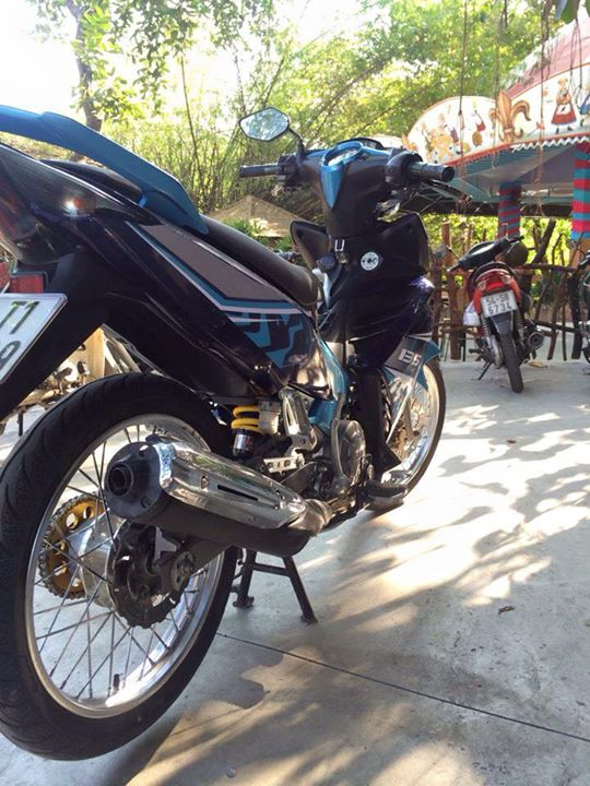 Exciter 135 do banh cam nhe nhang - 3