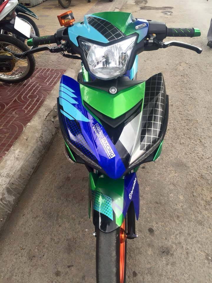 Exciter 150 Do kieng cua doi Racing Team