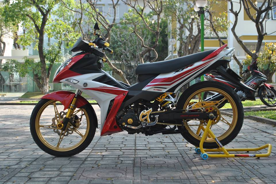 Exciter style X1R Nha Trang khoe sac - 2