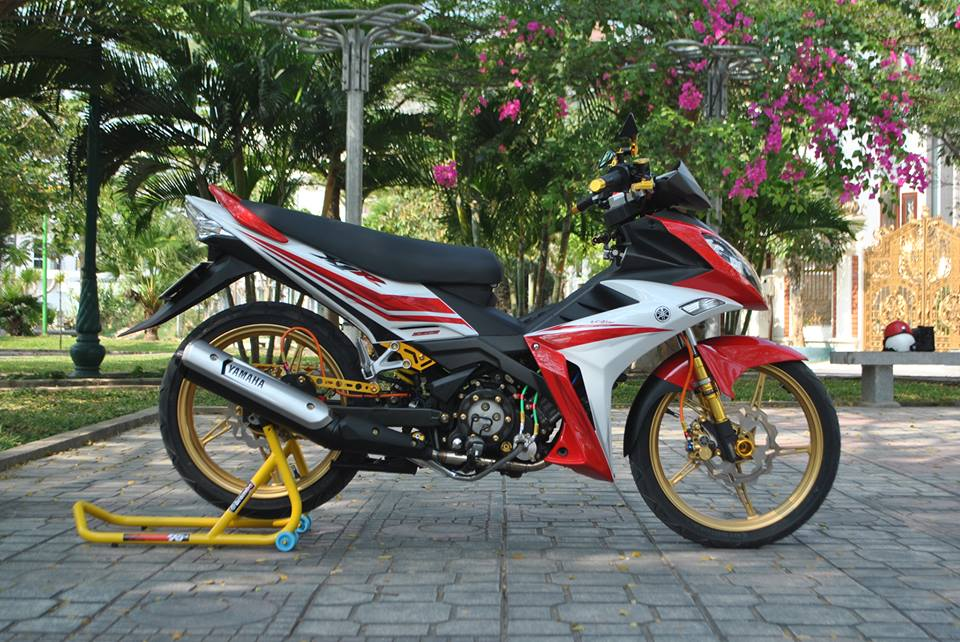 Exciter style X1R Nha Trang khoe sac - 3