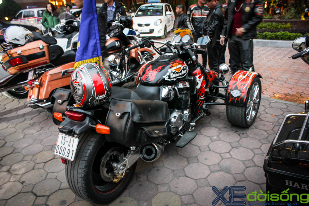 HarleyDavidson Night Rod do 3 banh voi phien ban lon rung tai Ha Noi - 3