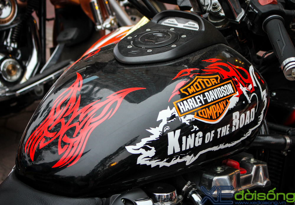 HarleyDavidson Night Rod do 3 banh voi phien ban lon rung tai Ha Noi - 9