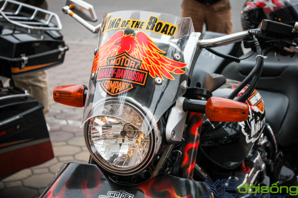 HarleyDavidson Night Rod do 3 banh voi phien ban lon rung tai Ha Noi - 12