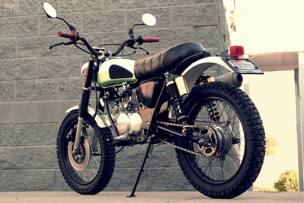 Honda SL70 do Scrambler - 5