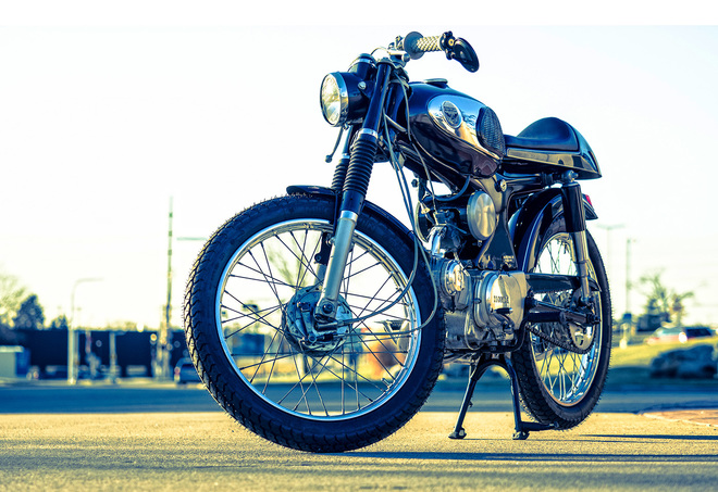 Honda S90 do Cafe Racer co dien va lich lam - 4