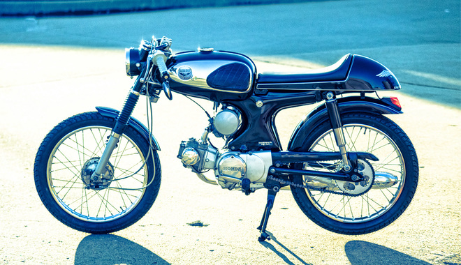 Honda S90 do Cafe Racer co dien va lich lam - 6