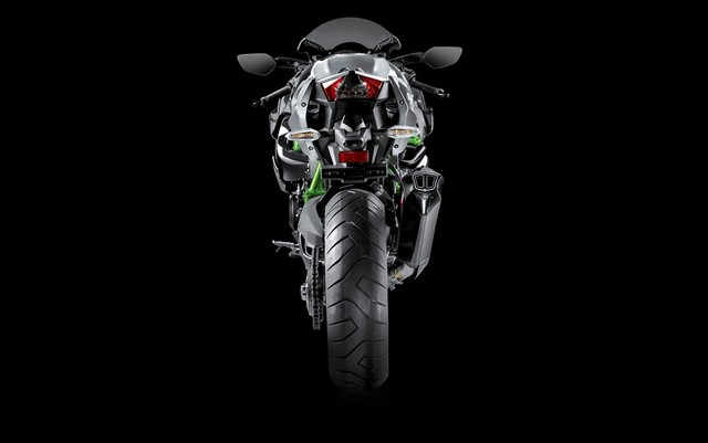 Kawasaki Ninja H2 do po Akrapovic moi day hap dan - 3