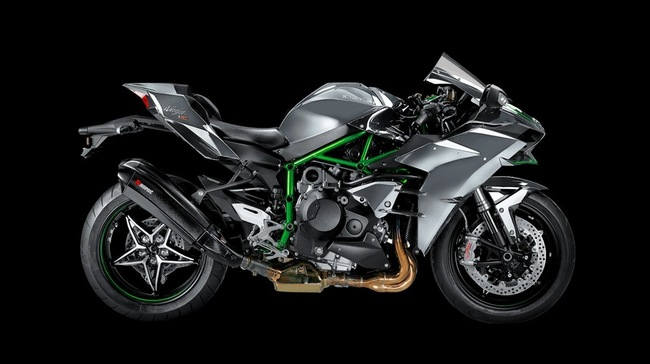 Kawasaki Ninja H2 do po Akrapovic moi day hap dan
