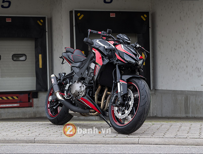Kawasaki Z1000 2014 chat choi voi Hly Edition - 16