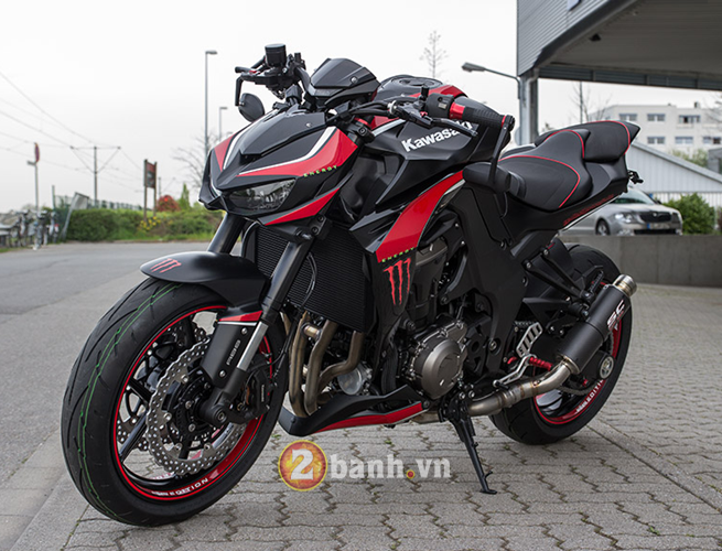 Kawasaki Z1000 2014 chat choi voi Hly Edition - 19