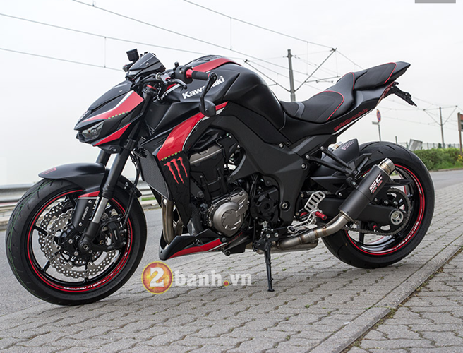 Kawasaki Z1000 2014 chat choi voi Hly Edition - 20