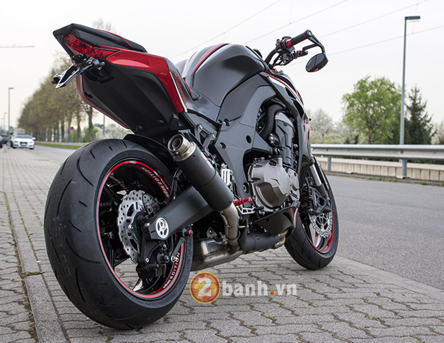Kawasaki Z1000 2014 chat choi voi Hly Edition - 23