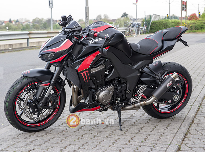 Kawasaki Z1000 2014 chat choi voi Hly Edition - 26