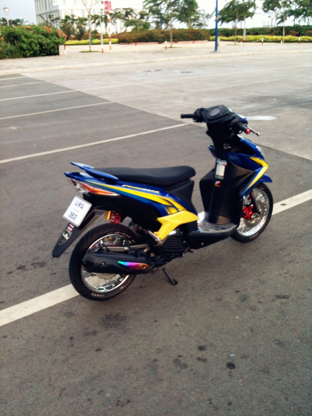 Mio 125i style drag Thai nhe nhang ma chat - 2