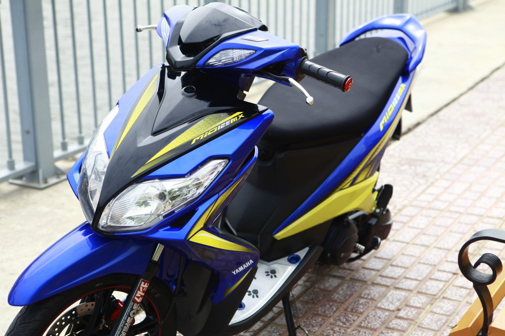 Mio 125i style drag Thai nhe nhang ma chat - 6
