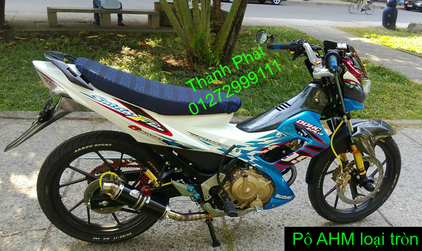 Po do Po kieu Co po 7 khuc AHM Akrapovic Yoshimura SC Project 2 Brother MIVV YYPANG Leov - 25