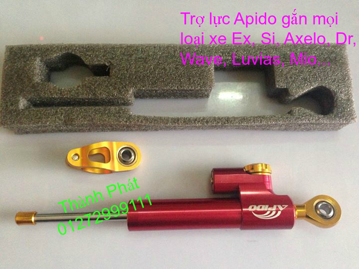 Tro luc Apido Sum Racing YCS Ohlins gan Ex150 Winner Raider MSX125 Dream Wave Luvias Mio - 27