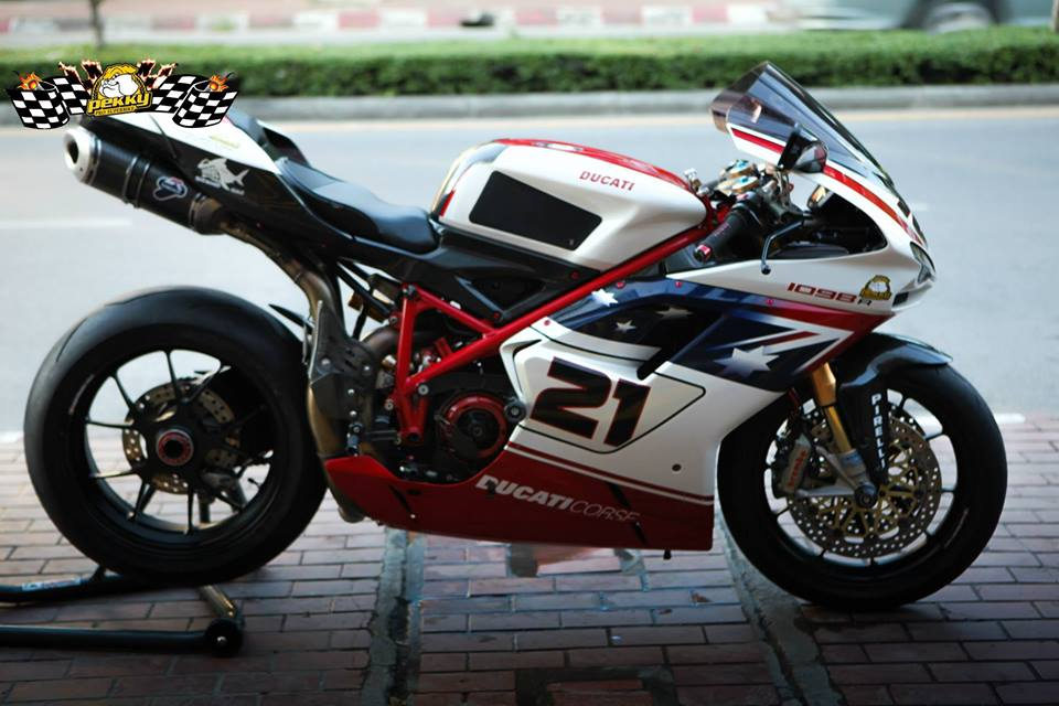 Ducati 1098R do tuyet dep cung phien ban Troy Bayliss