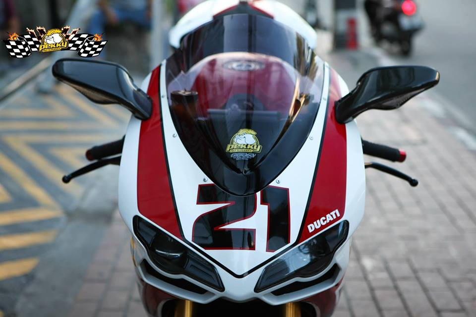 Ducati 1098R do tuyet dep cung phien ban Troy Bayliss - 2