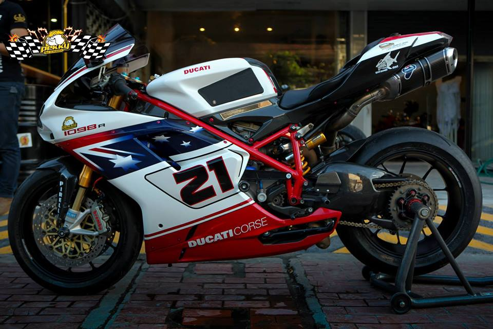 Ducati 1098R do tuyet dep cung phien ban Troy Bayliss - 13