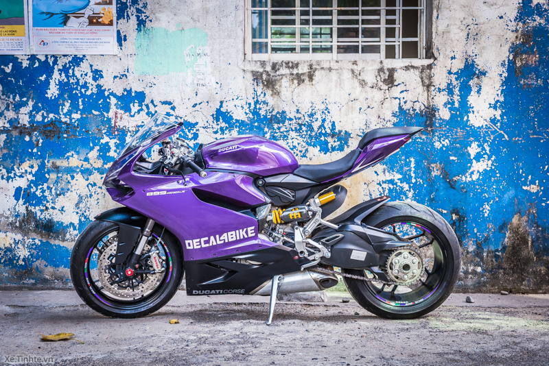 Ducati 899 Panigale Mau tim mong mo cua Decal4bike