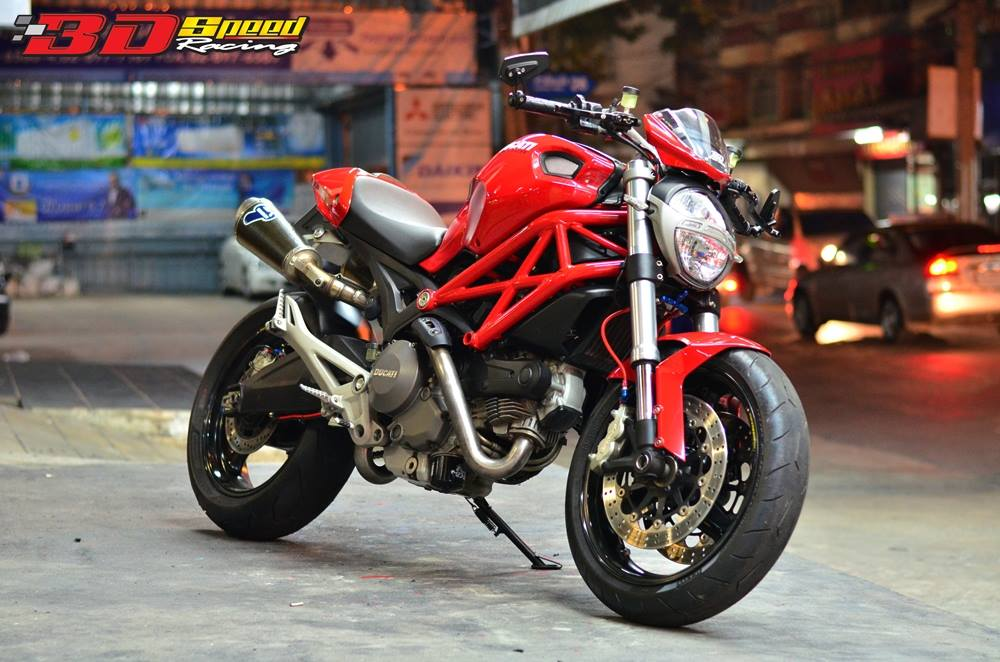 Ducati Monster 795 do sanh dieu ben dat Thai