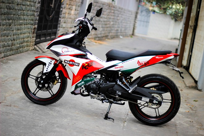 Exciter 150 Do phong cach Ducati ca tinh