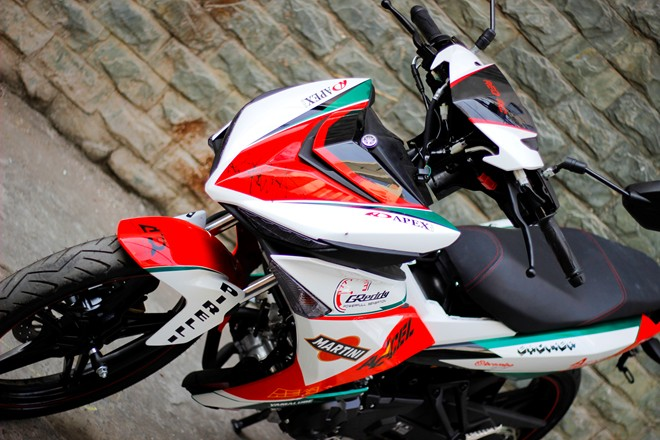Exciter 150 Do phong cach Ducati ca tinh - 2