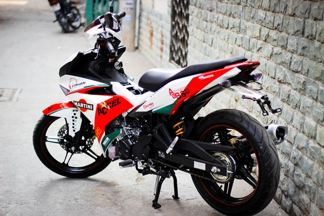 Exciter 150 Do phong cach Ducati ca tinh - 3